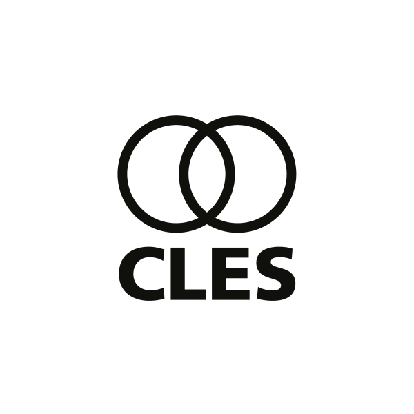 CLES Logo. Vescisa Pisces in black
